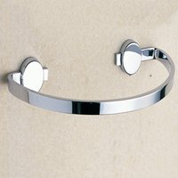 Wholesale Hanging Towel Rings Bathroom Accessories with Polished Chrome Brass Wall Mounted Bathroom Hardware for Sale
