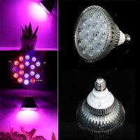 Wholesale Full spectrum E27 LED Grow Light Bulb W W W W W W V V Plant Growing Lamp for Hydroponic Garden For Plants Vegs Hydroponic