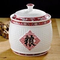 ceramic crafts - High Quality Storage Jar Jingdezhen Ceramic Decorate Arts and Crafts Fashion Decorative Ceramic Cup for Sale CPS004