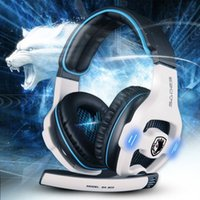 computer part - ccessories Parts Earphones Headphones Fashion Sades SA Surround Sound USB Gaming Headset With Foldable Noise cancelling Microphon