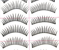 Others amazing false eyelashes - Amazing pair Black False Eyelashes Eyelash Thick Long Soft Women Makeup Tools Accessories New Arrival