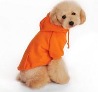 Wholesale 6 Sizes Pet Dog Clothes Clothing Coat Cotton Sweater Shirt Dress Dogs Winter Autumn