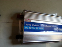 Wholesale DC AC3000W Silver High quality Modified Sine Wave power inverter w peak W DC12V to AC V dc Power Inverter