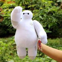 Wholesale Ems inch CM Big Hero Baymax Robot Hands Moveable Stuffed Plush Animals Toys Christmas Gfit
