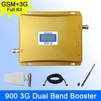 3g signal booster - Full Kit GSM G Cellular Signal Booster GSM mhz G UMTS mhz Mobile Amplifier WCDMA Dual Band Repeater Extender