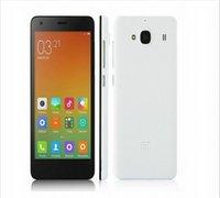 achat en gros de xiaomi riz rouge quad core-2016 origine Xiaomi redmi 2 phone 2Go RAM 16GB ROM Red Rice 2 4G LTE Dual SIM MSM8916 Quad Core 4.7