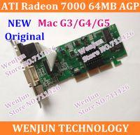 ati dvd player - 100 Original for Mac G3 G4 G5 Graphic Card NEW ATI Radeon AGP MB Video Card DVI VGA TV Out FreeShipping order lt no tr