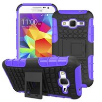 ace hard cover - Heavy Duty Hybrid Armor Kickstand in Robot Cover For Samsung Galaxy Ace NXT G313H Note Core Prime G360 Hard Back Cell Phone Case