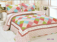 Wholesale Piece Cotton Quilted Bed Sheet Bedding Cover Summer Blanket cm Many Colors