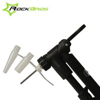 Wholesale ROCKBROS Ultralight Bicycle Accessories Bike Pump Gas Nozzle Converter For Schrader Presta valve Basketball