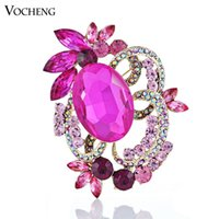 costume brooch jewelry - Dress Accessories Costume Jewelry Brooches Gold Plated Large Rhinestone Brooch Vx Vocheng Jewelry