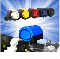 Wholesale Mini bicycle accessories Plastic Bicycle Bike Cycle MTB Ultra loud Electronic Bell Ring Horn