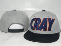 Wholesale Cray Hat - 2013 new 1 pcs gray cray baseball snapback hats and caps for men fashion sports hip pop cap mens summer sun hat good quality new