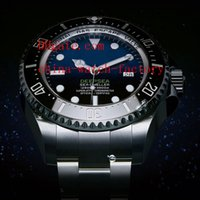 Wholesale Luxury Top Quality A Mens Watch mm D Blue Black Dial Sea Dweller Ceramic Bezel Sapphire Glass Automatic Man Watches