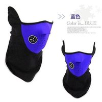 Wholesale New Arrival Neoprene Neck Half Face Mask Cover Ride Bike Hat CS Mask Winter Veil Men Women Outdoor Bicycle Cycling Motorcycle Ski Snowboard