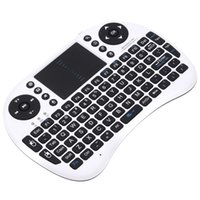Wholesale R2 I8 Air Mouse A21 G Multi Media Mini Wireless Remote Control Touchpad Handheld Keyboard for MX Android TV BOX Tablet Min