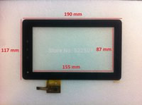 Wholesale NEW inch capacitive ASK SP G PIN BMORN V11 flytouch c08s Touch Cristal Tablet Pulgadas Pingbo Pb70dr8065_01 digitizer