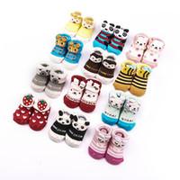 New brand bear stars - Baby Cute Cartoon Star Bear Panda Soft Warm infant Socks Newborn D Baby Socks M E315