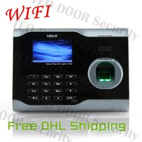 Wholesale Finger Print Time Attendance WIFI Time Attendance ZKSoftware U160 attendance System
