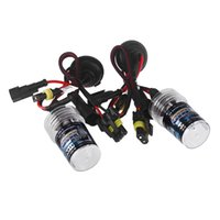 Wholesale 2pcs W K HID Kit Xenon Car Lights Flashlight Replacement Bulb Lamps Head Lights Lamp Conversion