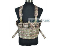 bear magazines - Airsoft Military Tactical D Load Bearing Boar Chest Rig Paintball Hunting Nylon Molle Durable Vest w Magazine Pouches