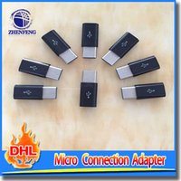 abs data - ABS Material USB Type C Male To Micro USB Female Data Adapter For Mobile Phone