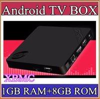 Cheap 30X X2 Android 4.4 TV BOX H3 Quad-Core 1.5Ghz 1GB 8GB 4K Video UHD 1080P Wifi Smart TV Player HDMI XMBC 20-3DH