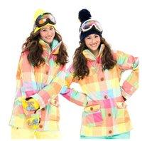 best veneers - Best Quality New Arriver Cotton Veneer Ski Suit Female Ski Jacket Windproof waterproof breathable L