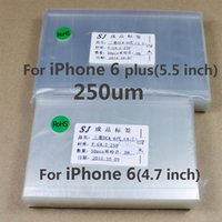Wholesale OCA Optical Clear Adhesive For iPhone s Double Side Sticker Glue for Mitsubishi um thick
