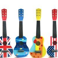 Wholesale Guitar Acoustic Guitar Children Guitar Toy Childrens String inch Kids Acoustic Guitar gift Instrument musical Toys