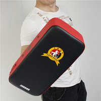 Wholesale 2014 New RED Zooboo Kick Boxing Pad Martial Arts Thai Focus Target Punching Bags MMA Training