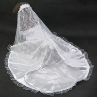 Wholesale Pet supplies wedding dress bridal wear flower embroidery veil pet dogs clothes suit