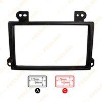 Wholesale 2DIN Car Refitting Radio Stereo DVD Frame Fascia Dash Panel Installation Kits For MAZDA MPV