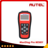 Code Reader automotive distributors - Authorized Distributor Autel MD801 Pro in code scanner JP701 EU702 US703 FR704 MaxiDiag PRO MD Code Reader