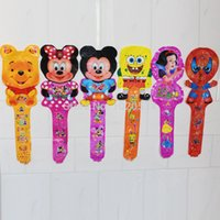 Wholesale 78 cm cartoon cheering stick balloons thunder stick for kids birthday party decoration baloons