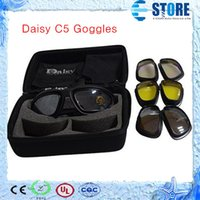 motorcycle frame - hot sale Daisy C5 Desert Storm Goggles with UV400 riding goggles motorcycle glasses sunglasses M