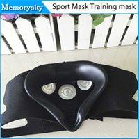 Wholesale Hot sale Sport Mask MMA Boxing Medium M Size Men Fitness Supplies Sport Mask Outdoor Training Fitness Equipment Mask Black White