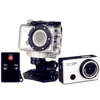 Wholesale Gopro Hero3 Style Extreme Action Sport waterproof Camera with Wifi Support Control by Phone Tablet P Full HD IR Remote Control