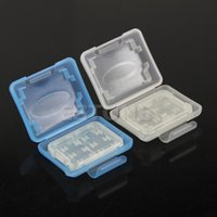 Wholesale Plastic Case SD TF Memory Card For Micro Storage Holder Box Protector New