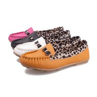 ballet flat shoes price - Price New Arrival Spring Fall Sex Leopard Style PU Leather For Women Flat Heel Shoes Ballet Low Cutter Footwear
