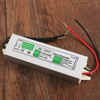 Wholesale 2015 New arrival Hot sale best quality New DC V W Waterproof Electronic LED Driver Transformer Power Supply For Free Shipp
