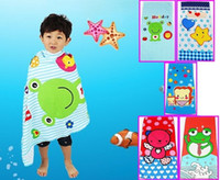 100% Cotton bath bear - cartoon bath towel beach towel children microfiber fabric cm lovely bear bee star