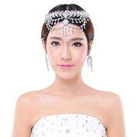 Coronas de boda tiaras de Quinceañera del cabello joyas accesorios tocados de novia para las novias princesa Nuevo Frente cristalino de plata 2016