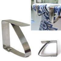 aerial clamp - Useful Convenient Table Cover Cloth Stainless Steel Tablecloth Clip Clamp Holder Party Wedding Prom