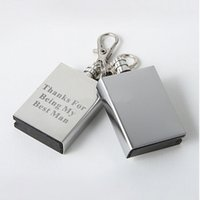 bbq chains - Personalized Keyring Match Box Striker Lighters Free Engraved Lighter Key chain