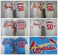 Wholesale 2015 New St Louis Cardinals Jerseys Adam Wainwright Shirt Cheap Baseball Jersey Embroidery Logos Size M XXXL