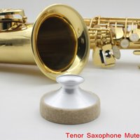 Wholesale Saxophone Mute Silencer Metal Dampener Light weight for Tenor Saxophone Sax Professional Saxophone Accessories