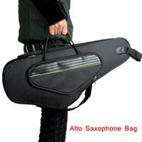 alto saxophone bag sax case - High Quality Alto Sax Saxophone Gig Bag Case D Water resistant Oxford Cloth Design Backpack Adjustable Shoulder Straps