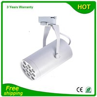 Wholesale LED Track Light Dimmable COB Spot Light W W W White and Black Body Thick Housing Warranty Years