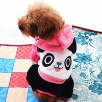 accessories hoody - pc factory Sale cartoon Bear Pet coat dog winter coat hoody S XXL color rose red blue LPC101308